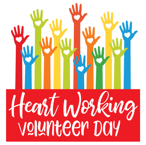 Heart-Working-Volunteer-Day